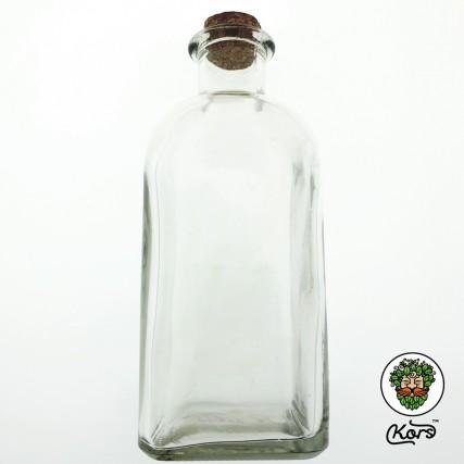 Бутылка стеклянная 0.7 л. пробка корок