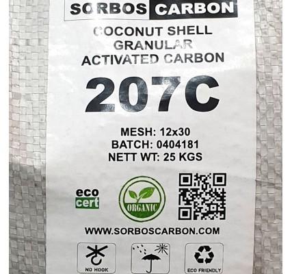 Уголь кокосовый активированный КАУ 1000 грамм