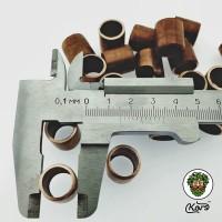 Кольца Рашига медные 15 мм.