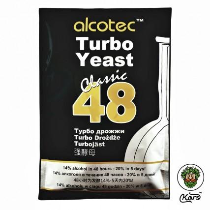 Спиртовые турбо дрожжи Alcotec Turbo Yeast Classic