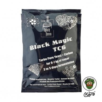 Спиртовые дрожжи с углем Spirit Ferm Black Magic TC6