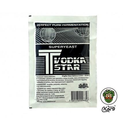 Активные турбо дрожжи T Vodka Star