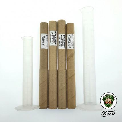 Набор профессиональных ареометров + 2 мерные колбы пластик (комплект) 07112