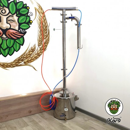 "Ректификационная колонна Kors Прима Тора кламп 2"" 20 литров"