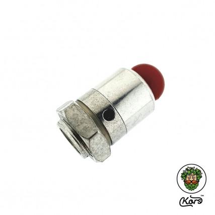 Предохранительный клапан сброса давления врезной 1/4 нар. резьба (взрывной клапан)