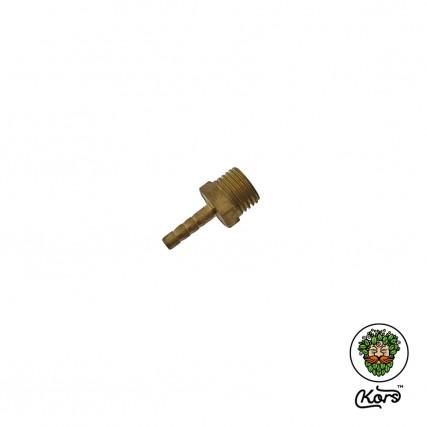 "Переходник латунь ¼"" штуцер х адаптер-елочка 4 мм"
