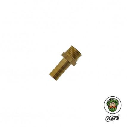 "Переходник латунь ¼"" штуцер х адаптер-елочка 8 мм"